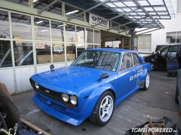 Datsun 510 Track Car – Kei Paddock | TOMEI POWERED USA