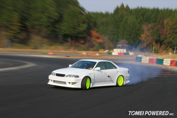 Tomei Yamaken S Toyota Mark Ii Drift Car Shakedown At Suzuka Twin