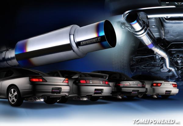 New! EXPREME Ti Muffler for Nissan Silvias, 180SX, 200SX & 240SX | TOMEI  POWERED USATomei