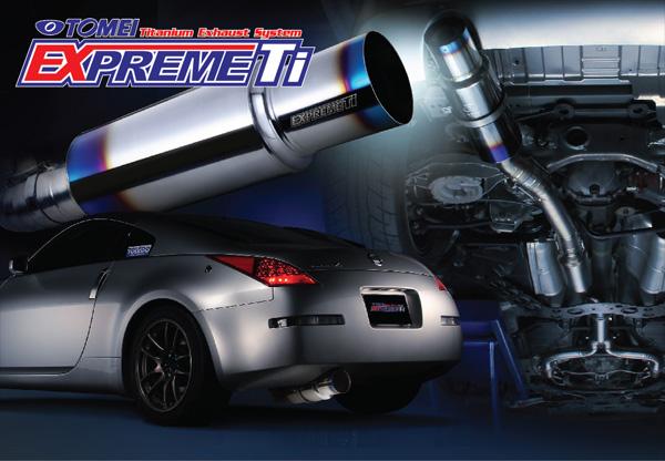 Tomei Expreme Y-Pipe Back Ti Titanium Exhaust - Nissan 350Z 03+